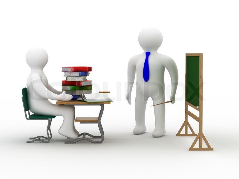 Unterricht in einer schulklasse stockfoto colourbox for Stuhl design unterricht