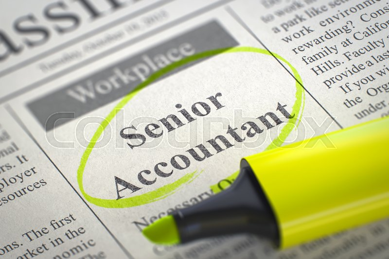 Image result for hiring senior accountant""