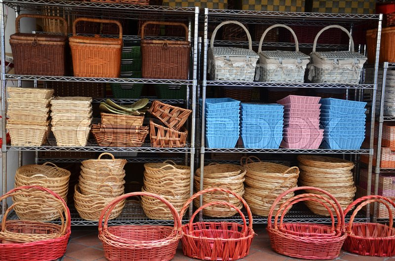 Rattan basket trays shop at outdoor of arab street singapore stock photo colourbox rattan basket trays shop at outdoor of arab street singapore stock photo colourbox negle Image collections