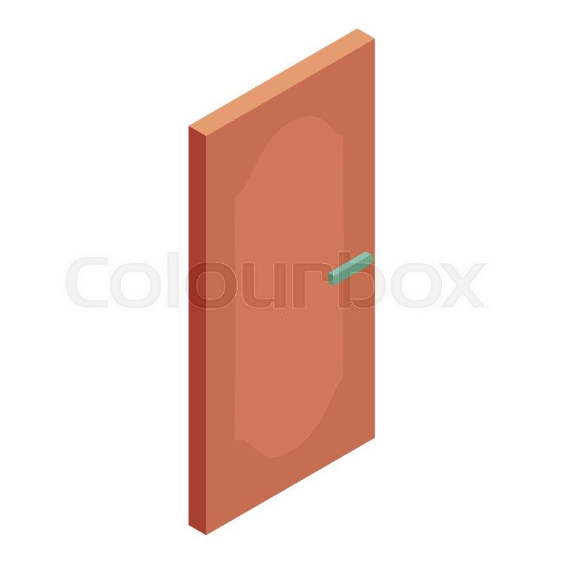 Front Door Icon Cartoon Illustration Of Door Vector Icon For Web