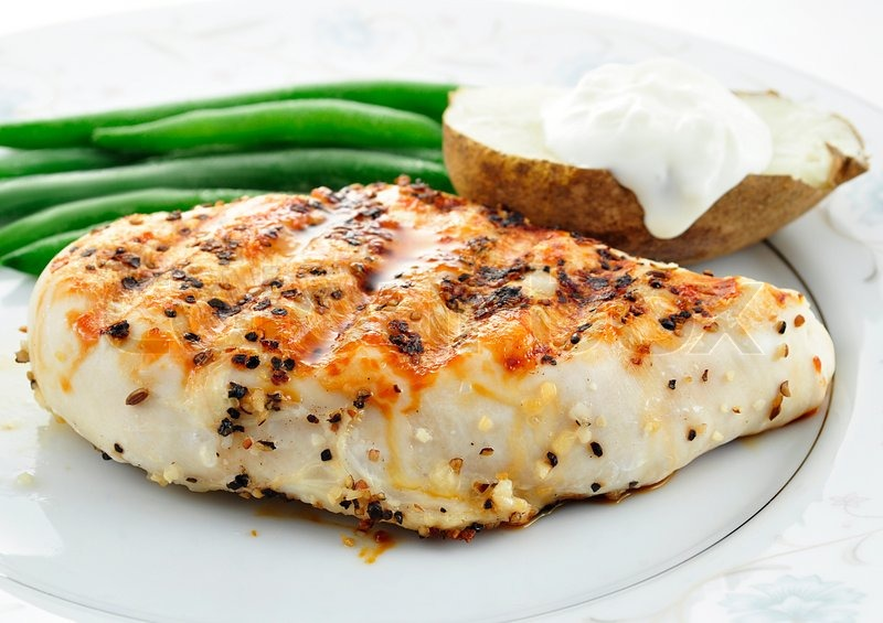Grilled chicken breast picture