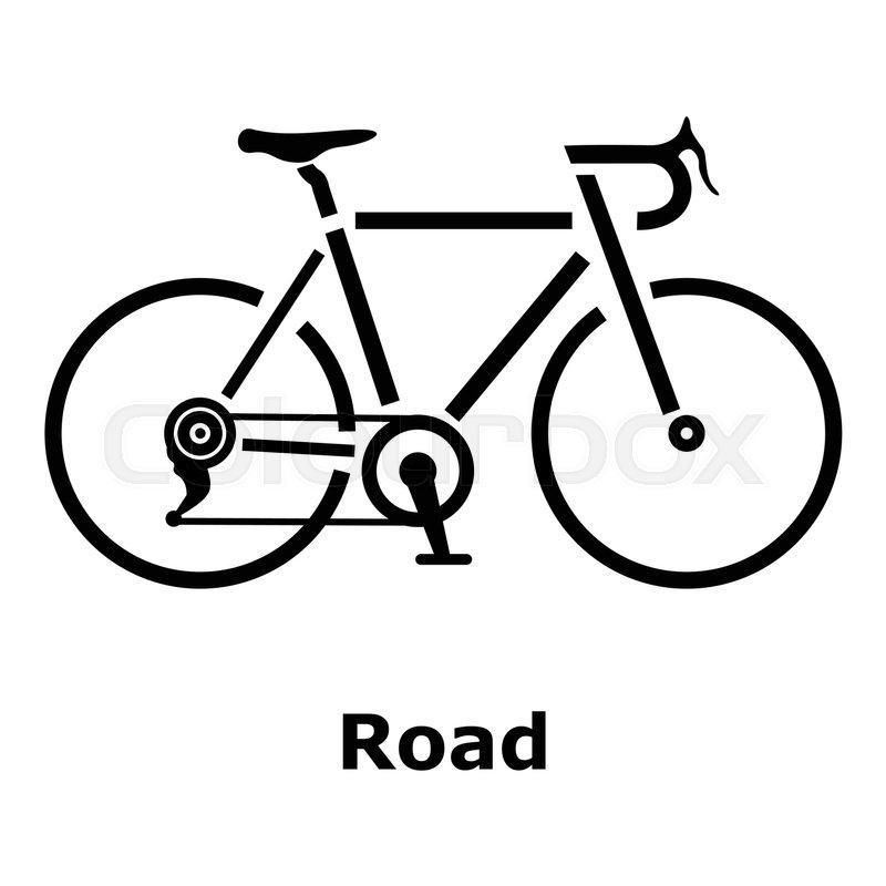road bike icon simple illustration of road bike vector icon for web rh colourbox com biker vector bike victoria john crouch