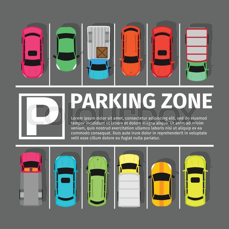 parking zone conceptual web banner parking place sign Parking Sign Clip Art Parking Garage Clip Art