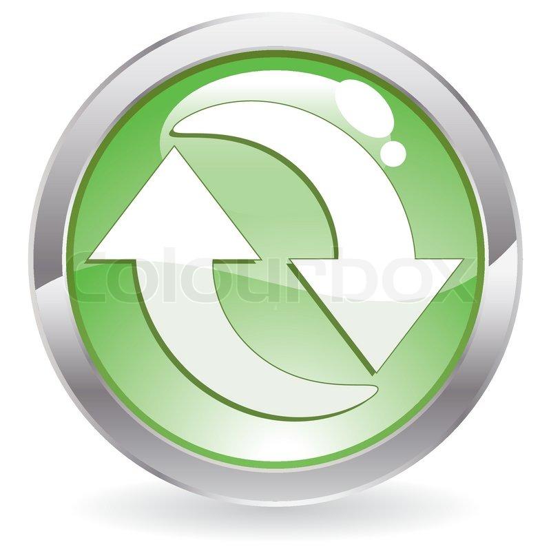Recycle Symbol Circle Recycling Symbol Icon