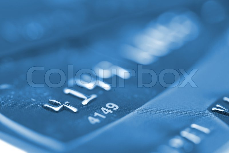credit cards can be used for finance background stock photo colourbox. Black Bedroom Furniture Sets. Home Design Ideas