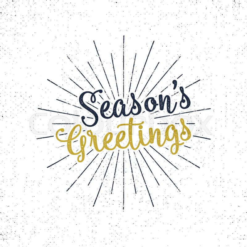 Christmas greetings lettering holiday wish saying and vintage christmas greetings lettering holiday wish saying and vintage label seasons greetings calligraphy seasonal greeting typography design m4hsunfo