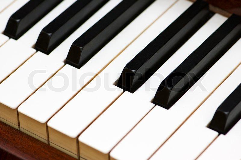 wei en und schwarzen tasten der klassischen klavier stock foto colourbox. Black Bedroom Furniture Sets. Home Design Ideas