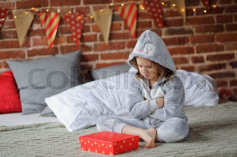 Christmas eve gift box pajamas for girls