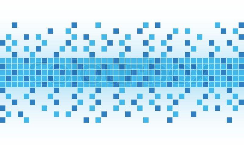 blue pixel background stock vector colourbox