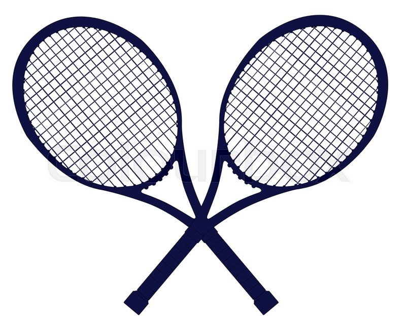 a pair of crossed tennis rackets in silhouette isolated tennis racquet clipart black and white tennis racquet clipart