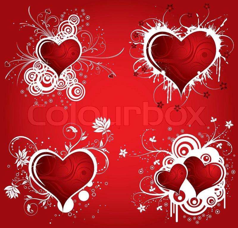 Herzen Sammeln