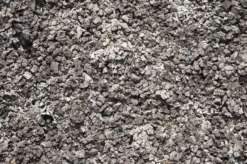 View of black earth arid soil good textured, stock photo