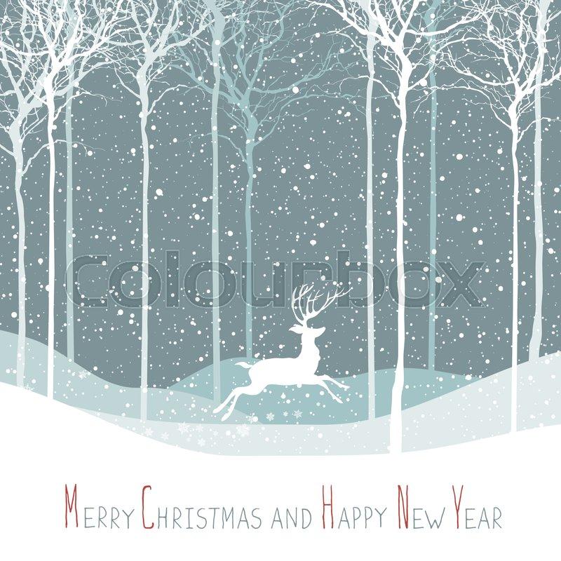 merry christmas postcard  christmas
