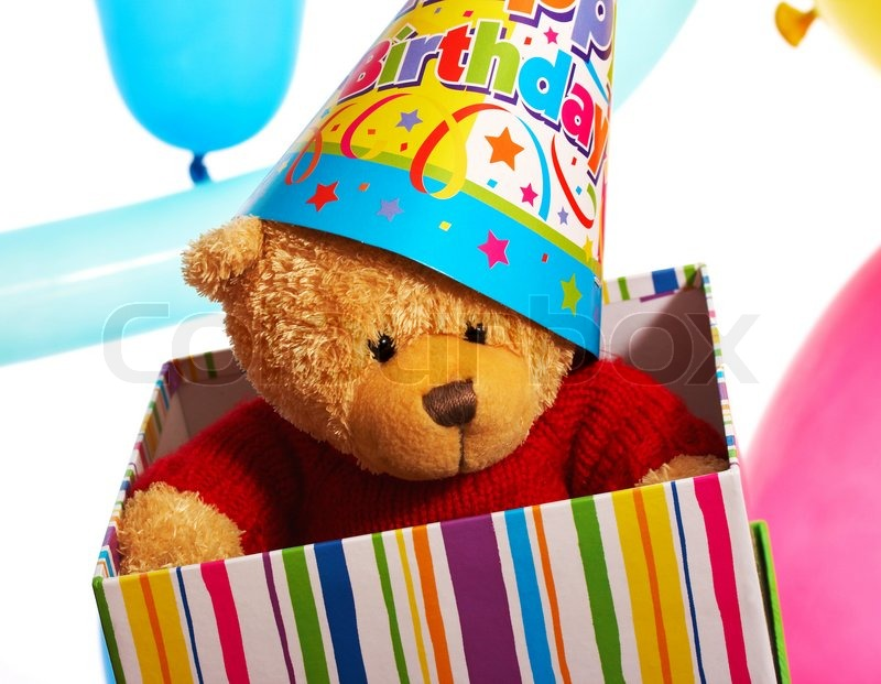 Teddy Bear Received Als Stockfoto Colourbox