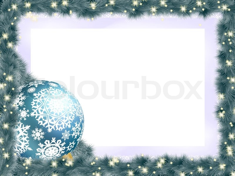 new year background with ball stock vector colourbox