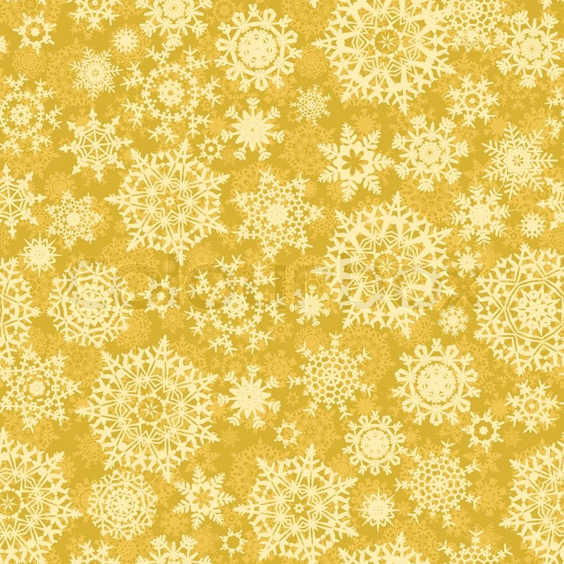 gold christmas snowflake wallpaper - photo #18
