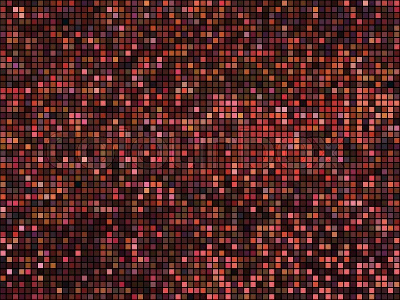 Abstract Mosaic Background Square Stock Vector