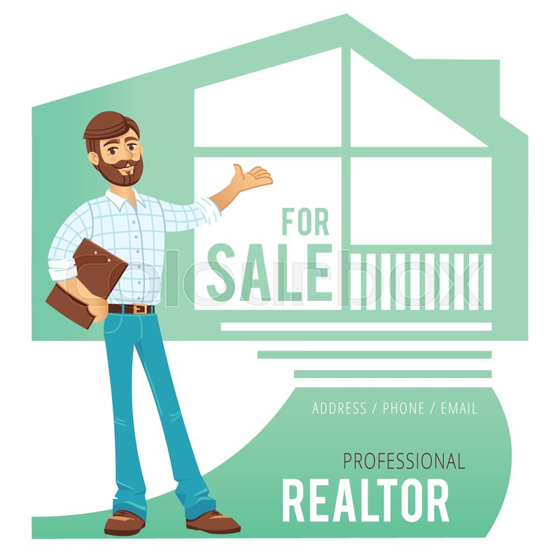 The concept of real estate services real estate agent showing a 800pxcolourbox22525433g reheart Choice Image