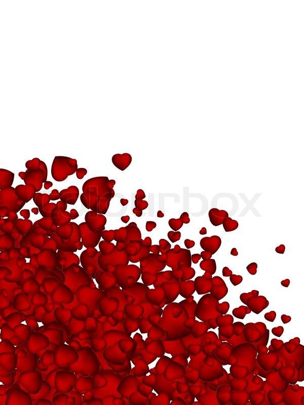 valentine background from heart