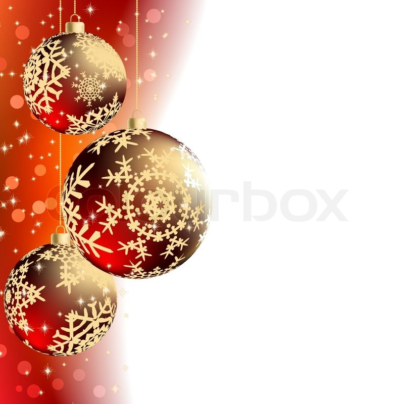 Merry Christmas Elegant Suggestive Background For Greetings Card, Vector