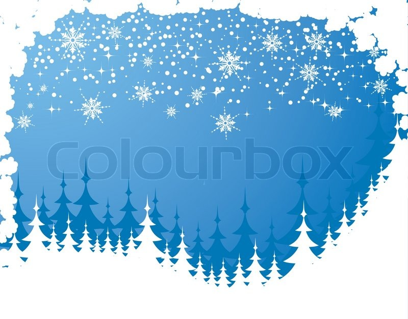 Winter Background Vector Free Vector Download 45 386 Free: Abstract Christmas Background With Snow, Element For