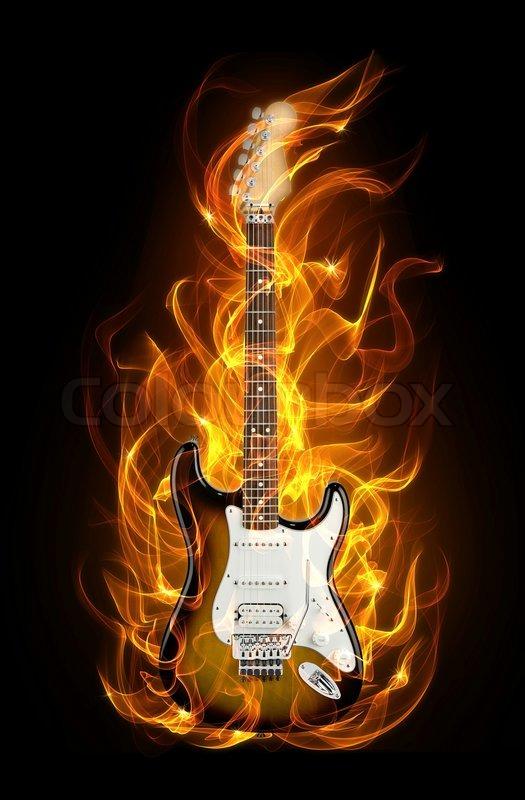 Body Paint Flames Fire