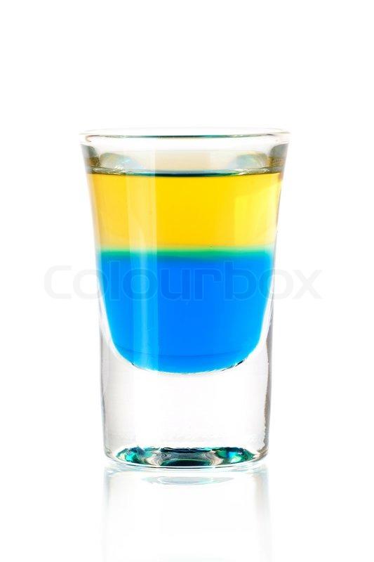 Blue Bazooka Alcohol Drink