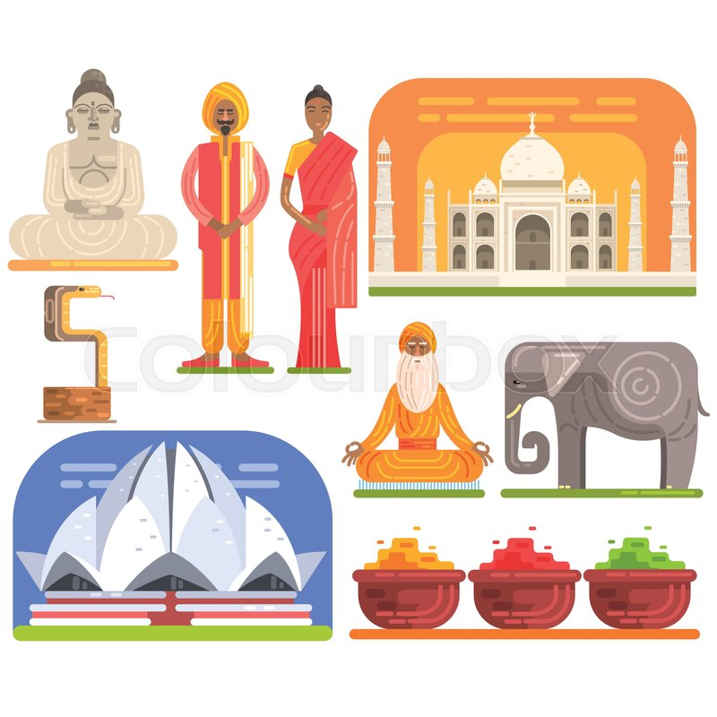 Famous Touristic Attractions To See In India Traditional Tourism
