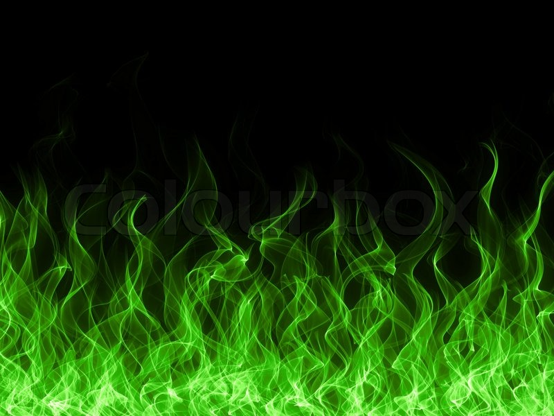 Cool Green Flame Backgrounds