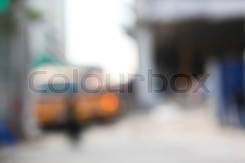 De-focused Abstract Construction Site for Blurred Background, stock photo