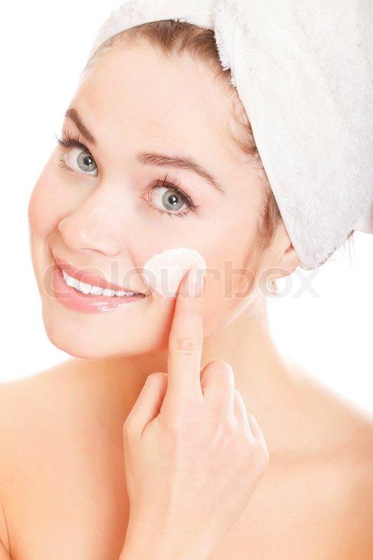 Cream On Her Face - Top Porn Photos-3904