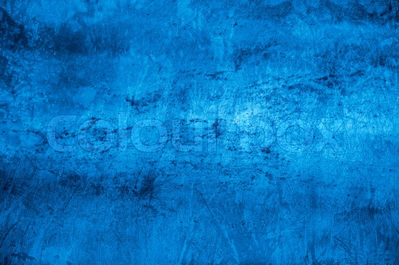 Textured Blue Background With Space For Text Or Image