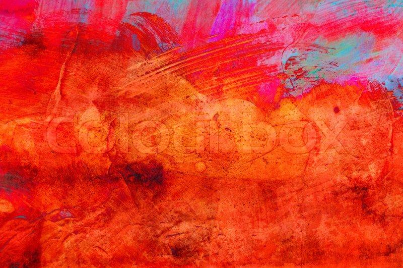 abstract grunge farbe handmade f r bunte tapeten. Black Bedroom Furniture Sets. Home Design Ideas