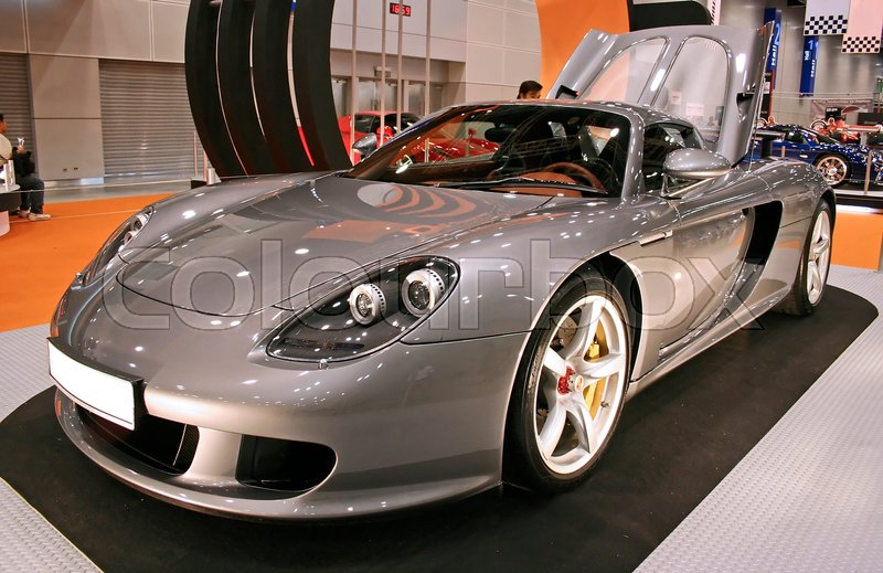 Sport Car At Dreamcars Asia 2005 Expo Malaysia Stock Photo