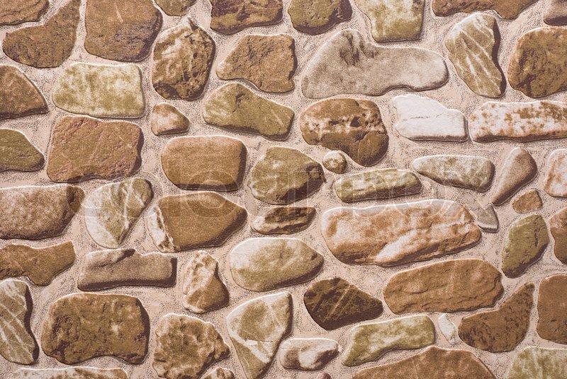 Foto von alten tapeten dargestellt steinmauer stockfoto for Steinmauer tapete
