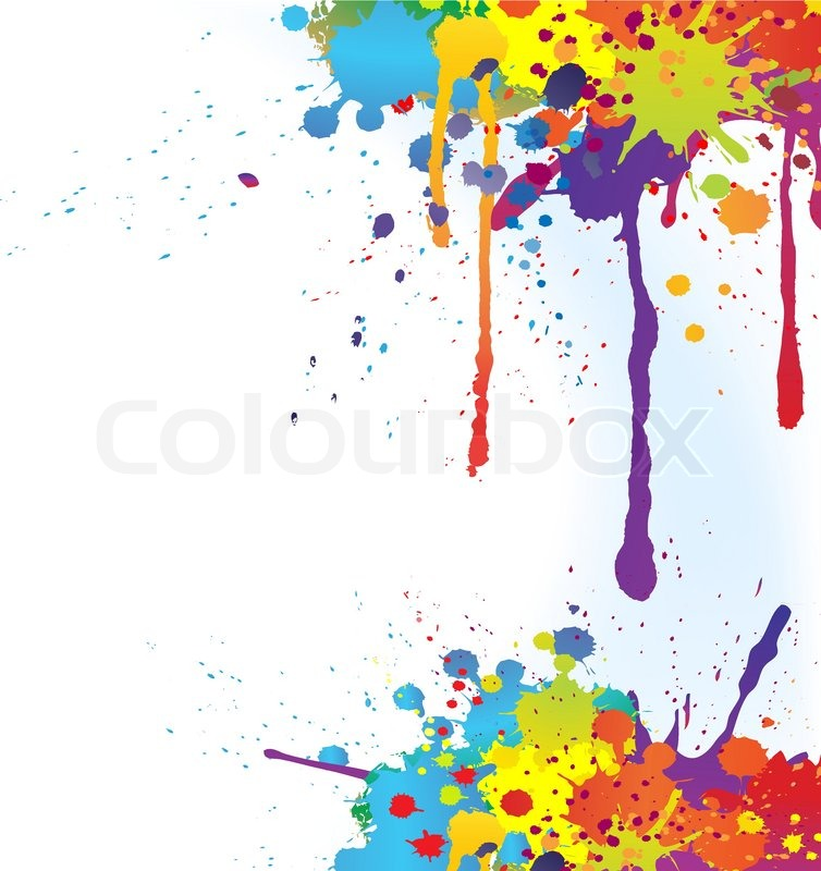 colorful and outline ink - photo #5