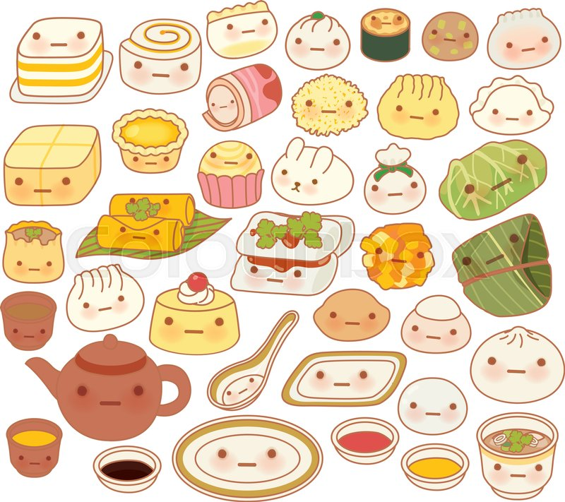 Collection Of Lovely Baby Chinese Stock Vector Colourbox