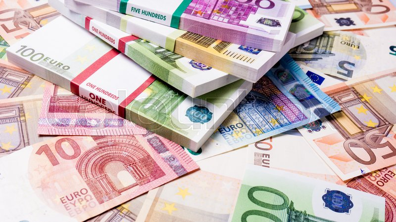 lots of cash money euros euro money banknotes money euro