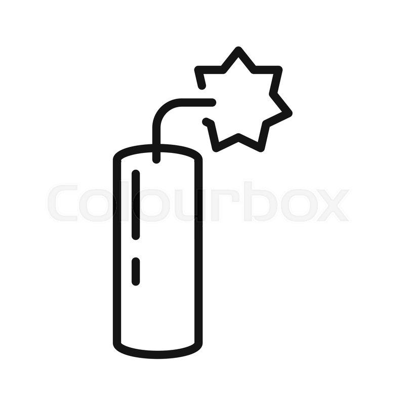 explosive bomb vector illustration design