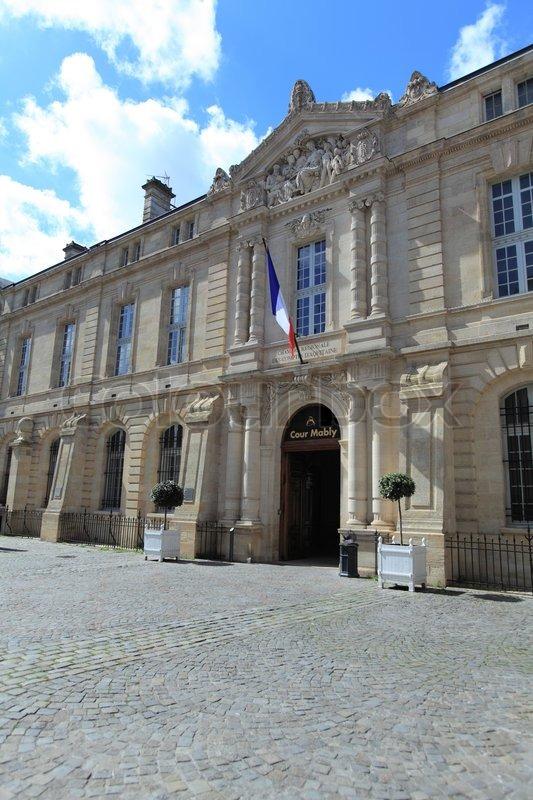 Chambre r gionale des comptes d 39 aquitaine bordeaux france stock photo colourbox - Chambre des commerces de bordeaux ...