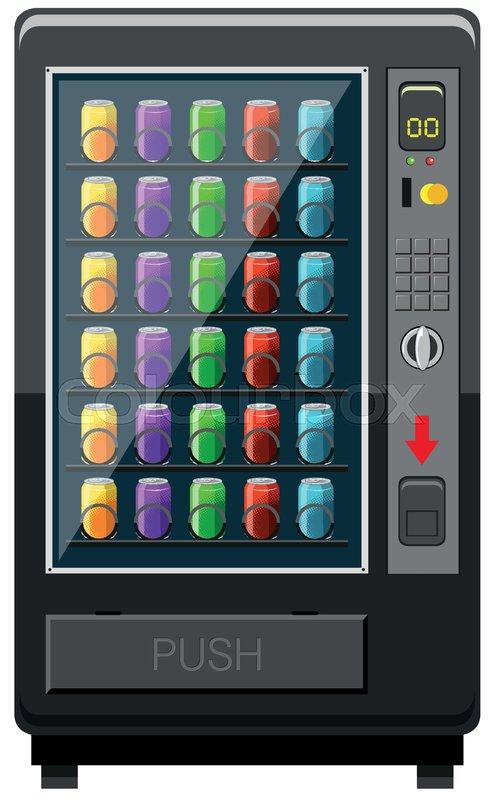 Einzeln Grafisch Gefrierfach Stock Vektor Colourbox