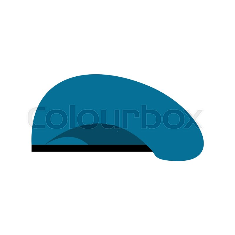 a17c65c0624 Stock vector of  Beret military blue. Soldiers cap. army hat. War barret