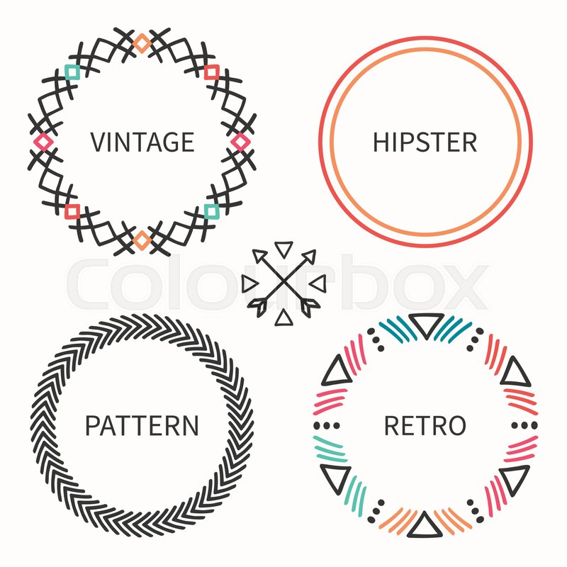 Day of the dead frame set tribal hand drawn line mexican ethnic stock vector of day of the dead frame set tribal hand drawn line mexican stopboris Images