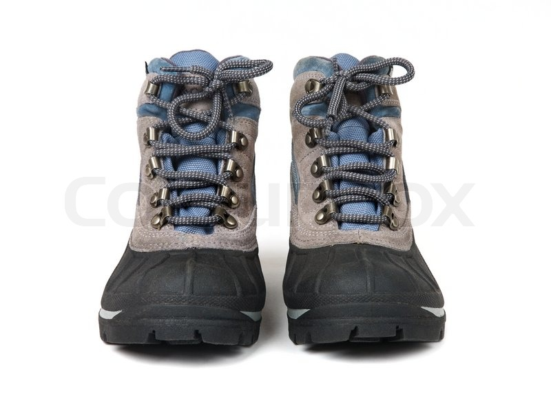 24d20b921a9 Menneskets vandtætte støvler med ... | Stock foto | Colourbox