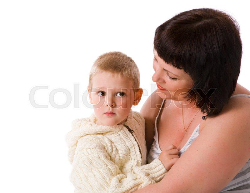 Посмотреть Мать С Сыном