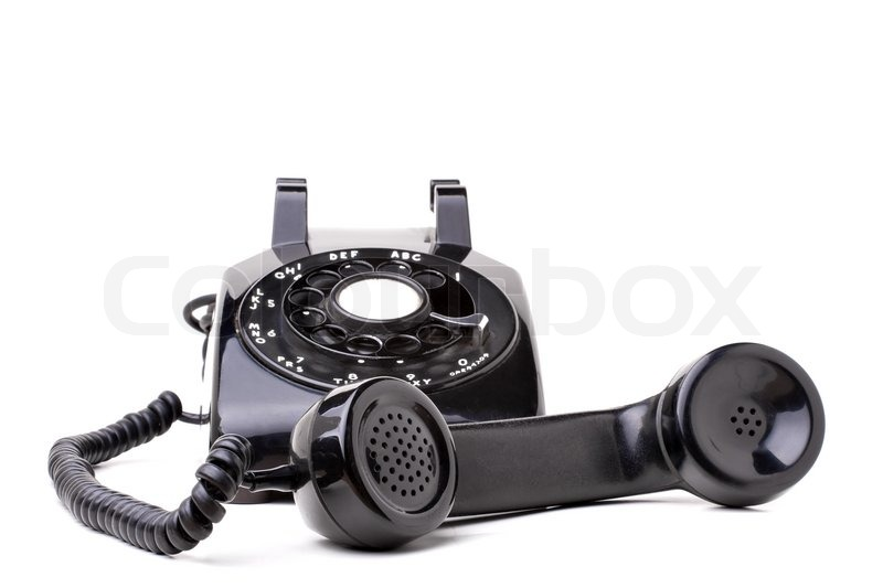 Old Fashioned Phone Off Hook