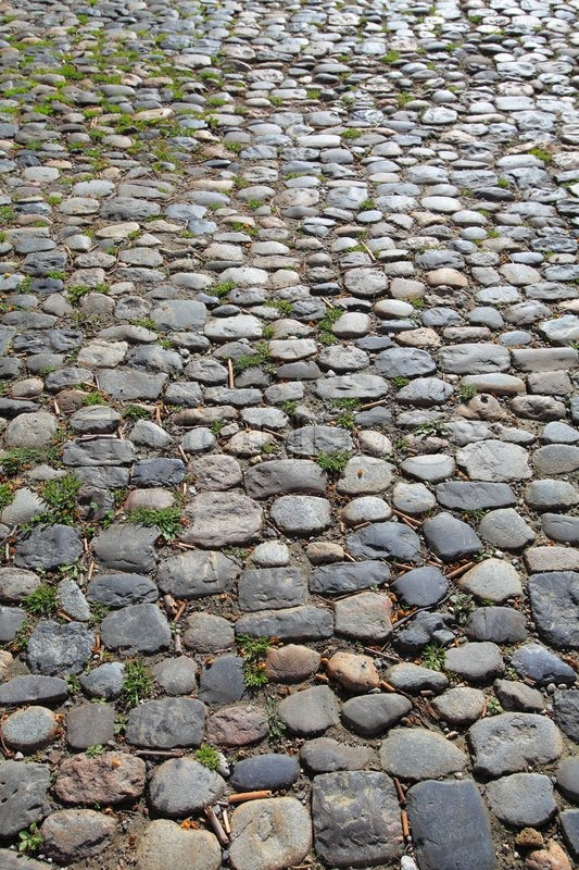 Old Cobblestone Road An old stone ro...
