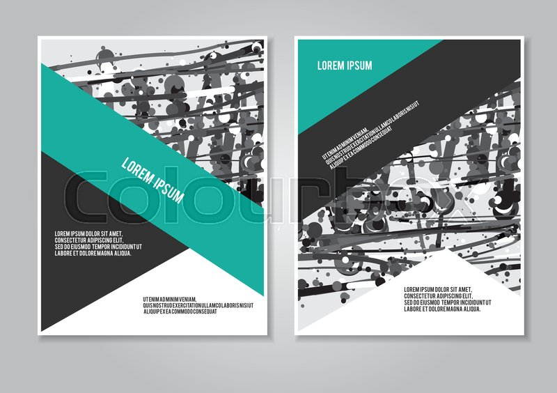 cover design annual report brochure booklet layout creative