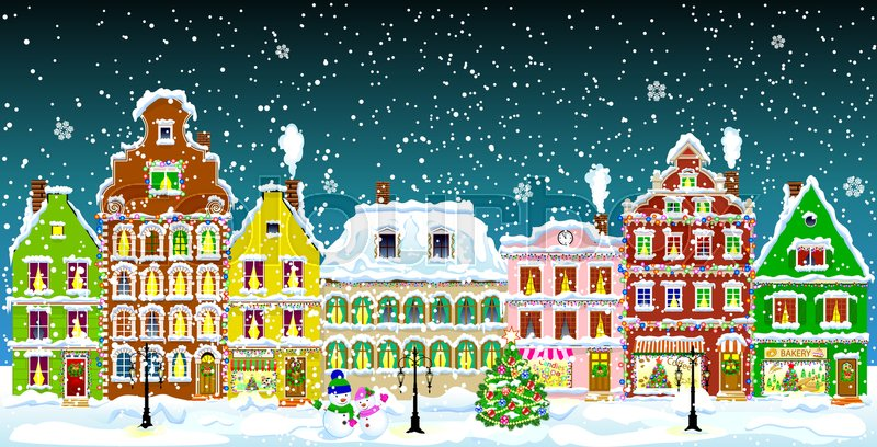 Christmas Village Animated