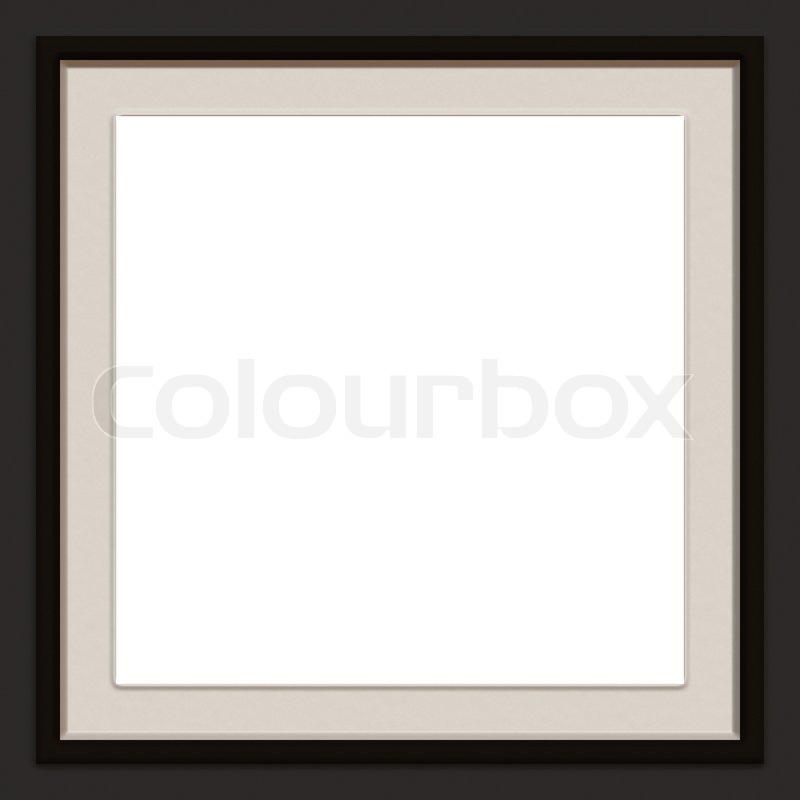 Eine moderne / zeitgenössische Bilderrahmen | Stockfoto | Colourbox